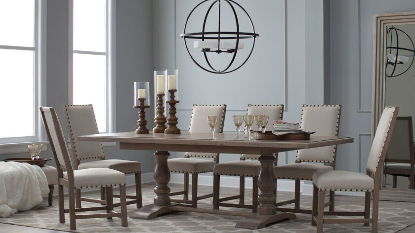 Lighting is key for creating attractive entertaining spaces. CREDIT: Photo Courtesy of Hayneedle.com