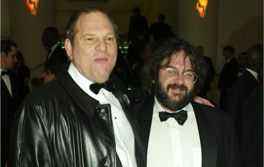 Harvey Weinstein y Peter Jackson