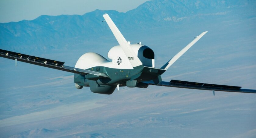San Diego's Northrop Grumman operation has thrived by developing such unmanned aircraft systems as the Triton, which completed its first flight in May 2013.
