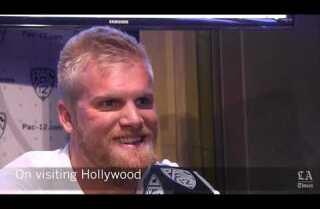 Punter Nick Porebski goes to Pac-12 media day