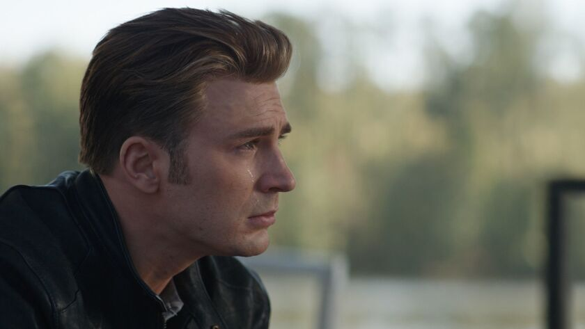 "Steve Rogers/Captain America (Chris Evans) in a scene from ""Avengers: Endgame."" Credit: Film Frame/M"