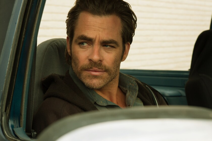 "Chris Pine as Toby Howard in ""Hell or High Water."""