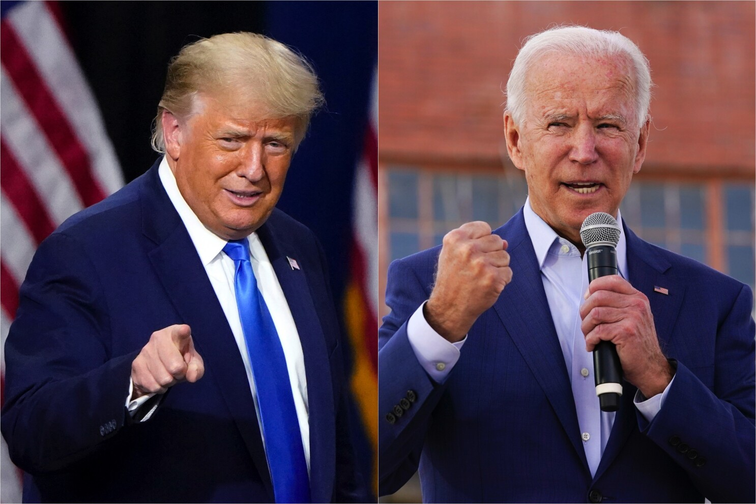 Trump and Biden may be 'super-agers,' study says - Los Angeles Times