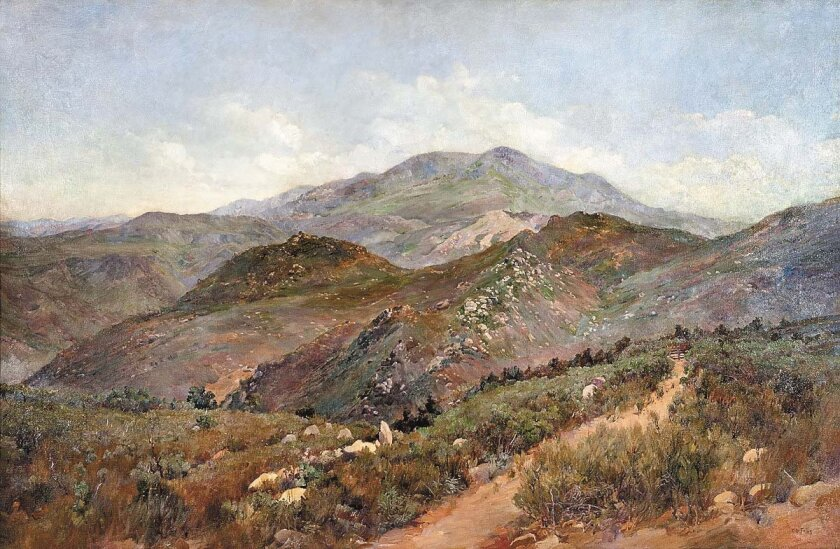 "Charles Fries' ""Cuyamaca Mountain"" Photo: San Diego History Center"