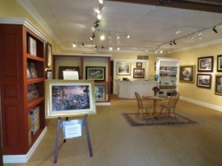 Renaissance Art Galleries is holding a Grand Opening event at the Rancho Santa Fe Plaza in Encinitas on Saturday, April 27, from noon-4 p.m.
