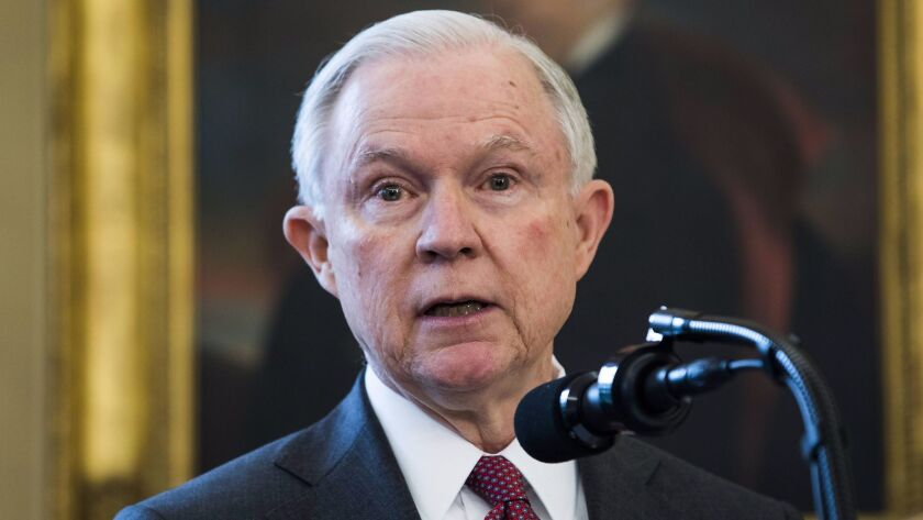 Sessions says marijuana should not be sold ëat every corner grocery storeí