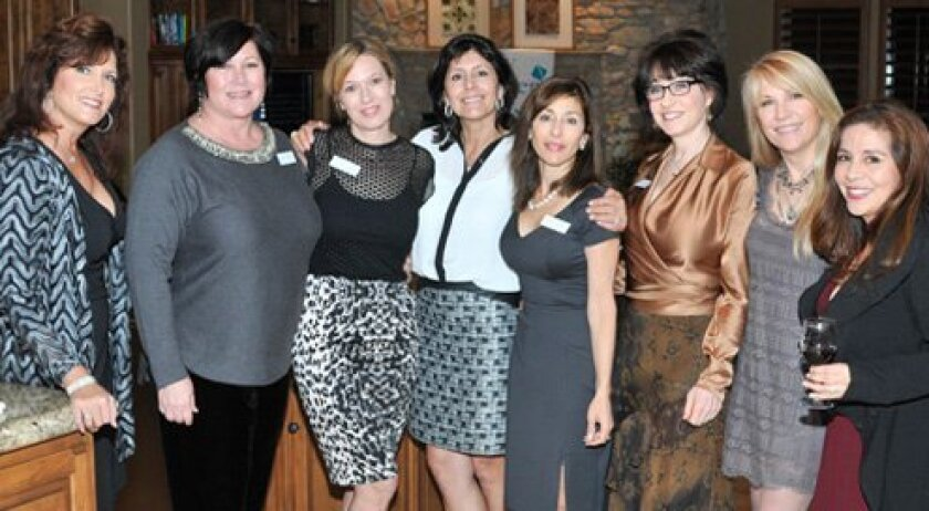Annette Fargo, Melinda Tucker, Claire Cellier, Grace Evans, Judy Rowles, Gabriela Stratton, Susan Darnall, Lory Fisher