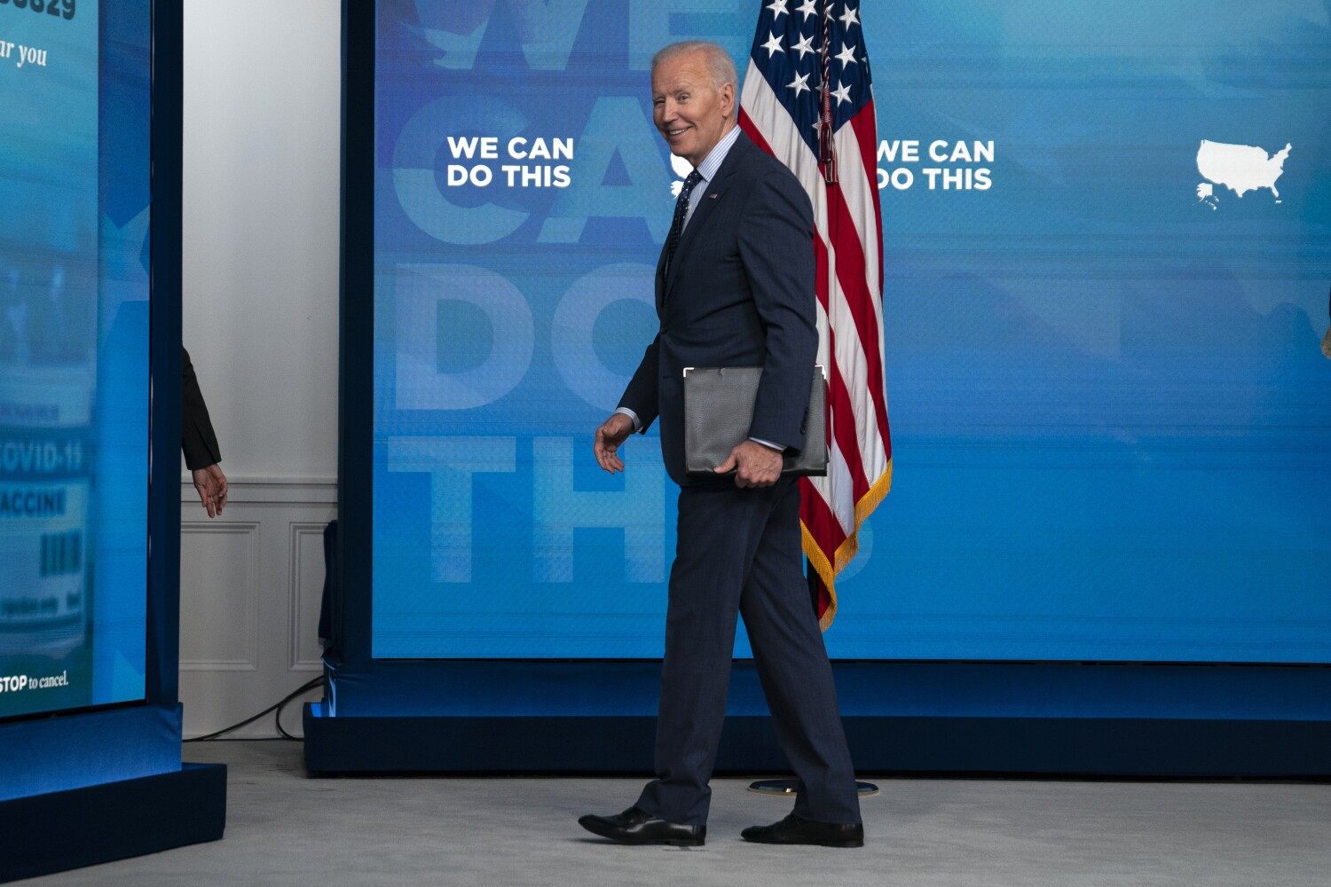 Biden and Capito try to chip away at impasse on infrastructure