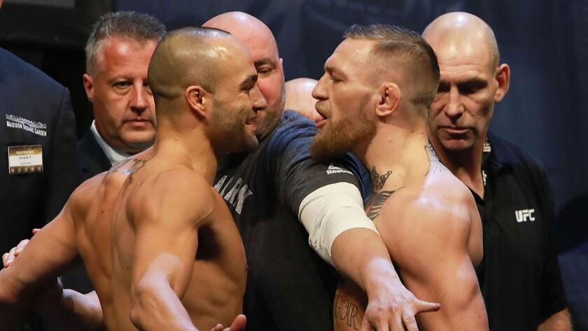 Eddie Álvarez vs Conor McGregor, choque explosivo.
