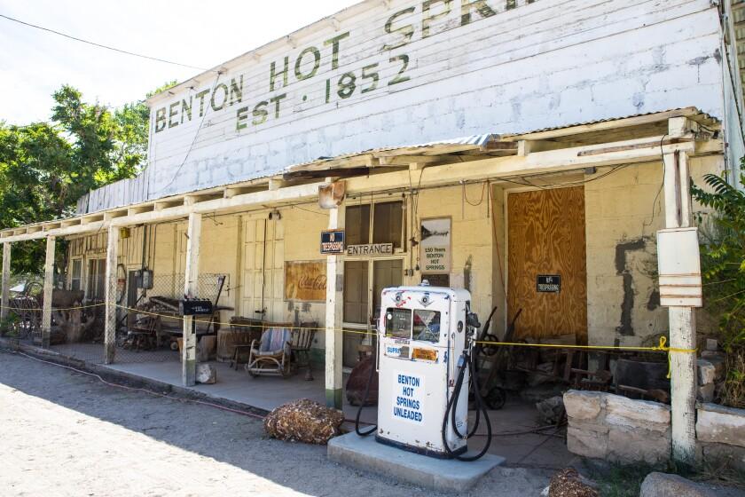 Benton Hot Springs.