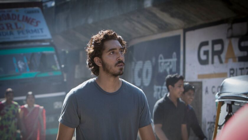 """Dev Patel in Oscar nominee """"Lion."""" Patel is nominated for an Oscar for best supporting actor."""