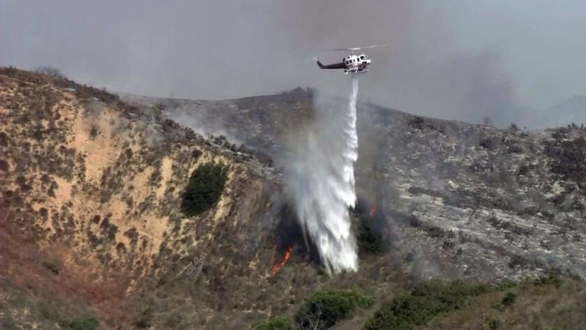 Ventura brush fire