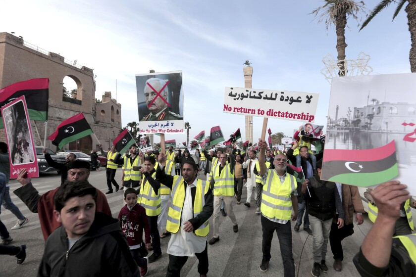Libya Russia Mercenaries