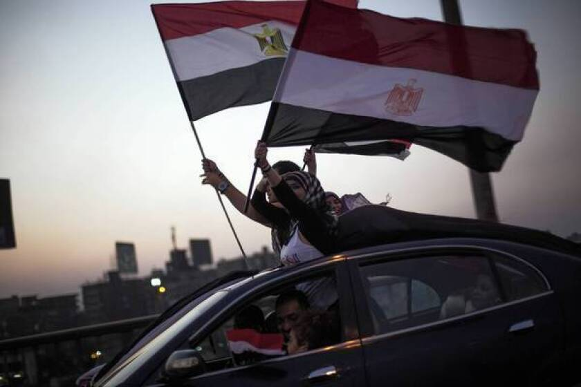 Young activists again feeling squeezed out of Egypt's rebellion