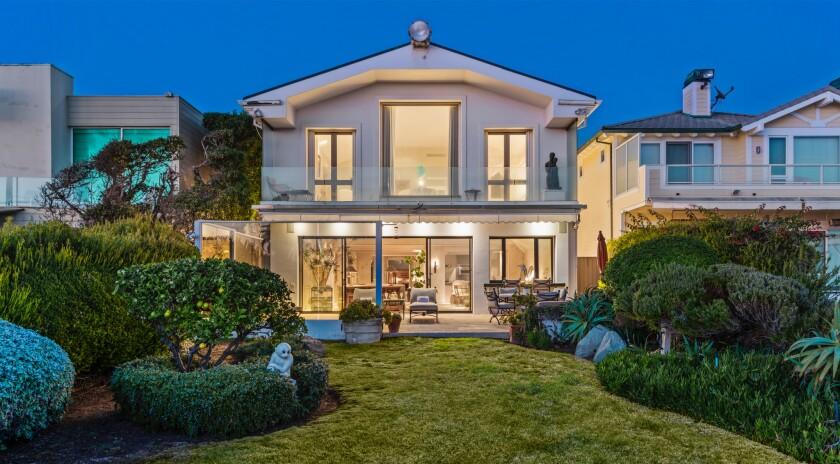 Frank Sinatra's Malibu beach house