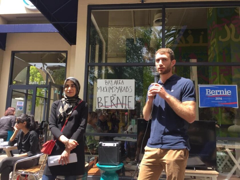 Bay Area Muslims for Bernie