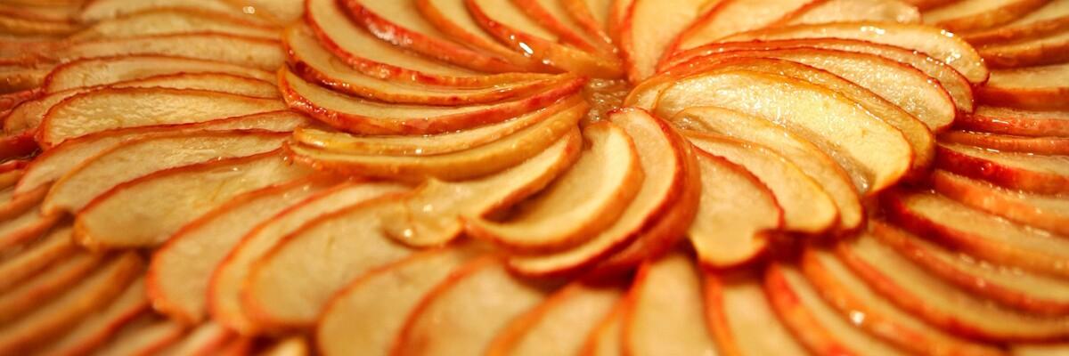 Apple galette.