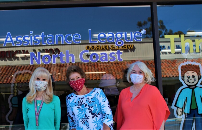 Assistance League of North Coast reopened its thrift shop at 1830 Oceanside Blvd in Oceanside.