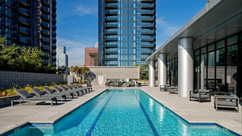 Circa is a new 648-unit apartment complex at 1200 S. Figueroa St. in downtown Los Angeles. It has tw