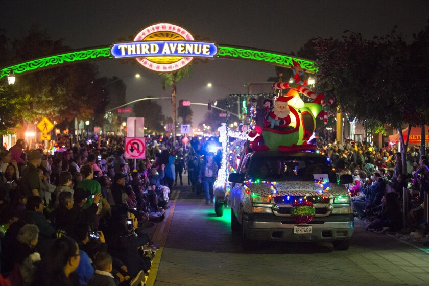 Chula Vista Starlight Parade