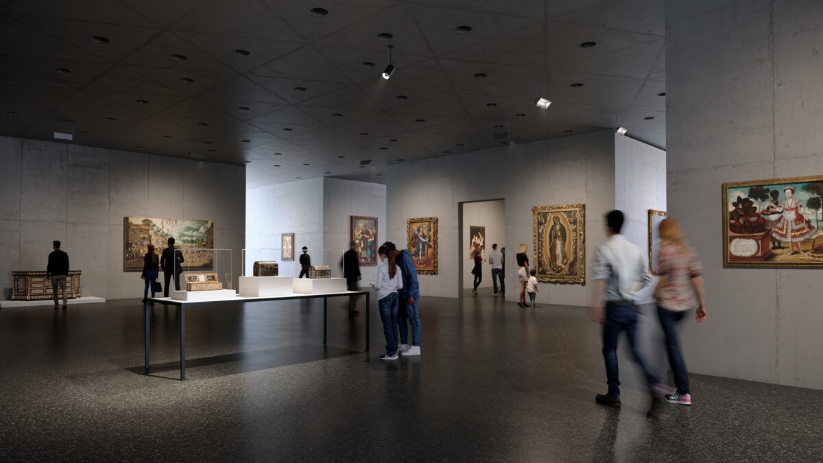Here Is What Lacma S Zumthor Design Will Look Like Inside Los Angeles Times