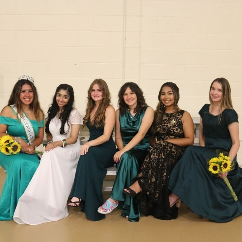 North County Celtic Queen 2022 Court