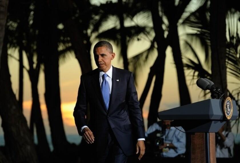 Obama in Hawaii