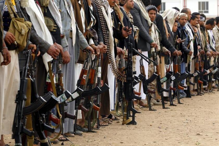 El Pentágono anunció hoy los primeros ataques de la Presidencia del republicano Donald Trump contra el terrorismo yihadista, entre ellos varias operaciones en Yemen que acabaron con cinco miembros de la red Al Qaeda. EFE/ARCHIVO