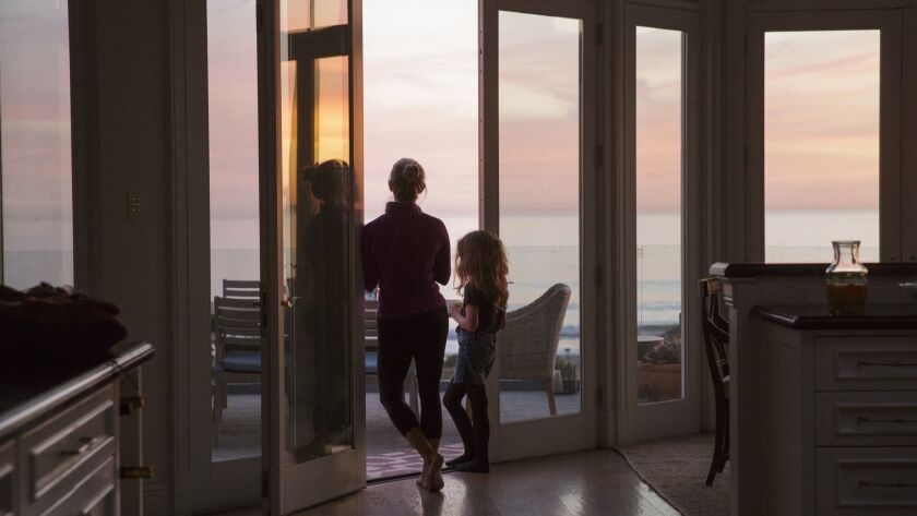"""Reese Witherspoon as Madeline Martha Mackenzie and Darby Camp as Chloe Mackenzie in HBO's """"Big Little Lies."""""""