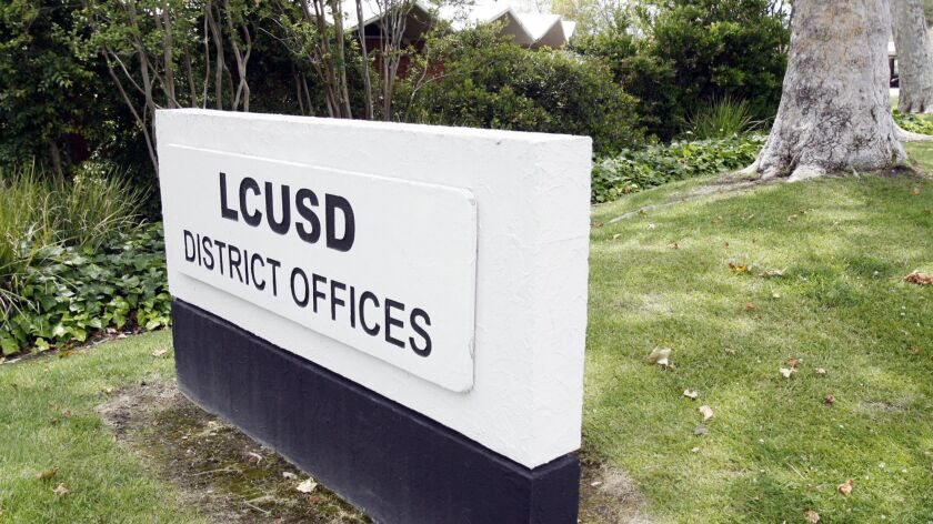 The district offices for the La Canada Unified School District in La Canda Flintridge on Monday, Jun