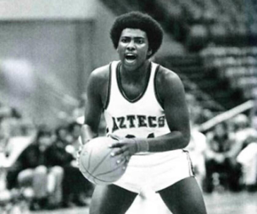 Tony Gwynn still holds SDSU's basketball assist records for a career (590), season (221) and game (18).