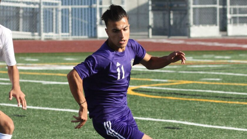 Omar Nuristani had to learn a new language and get his grades up to play soccer for Santana.