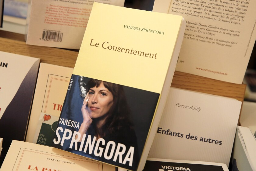 Book's allegations against French writer