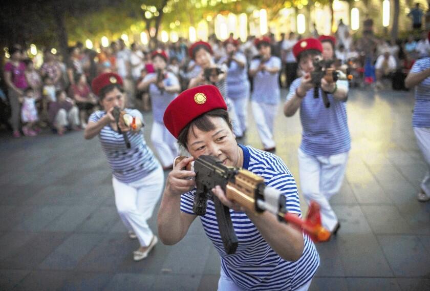 Dance troupe in Beijing