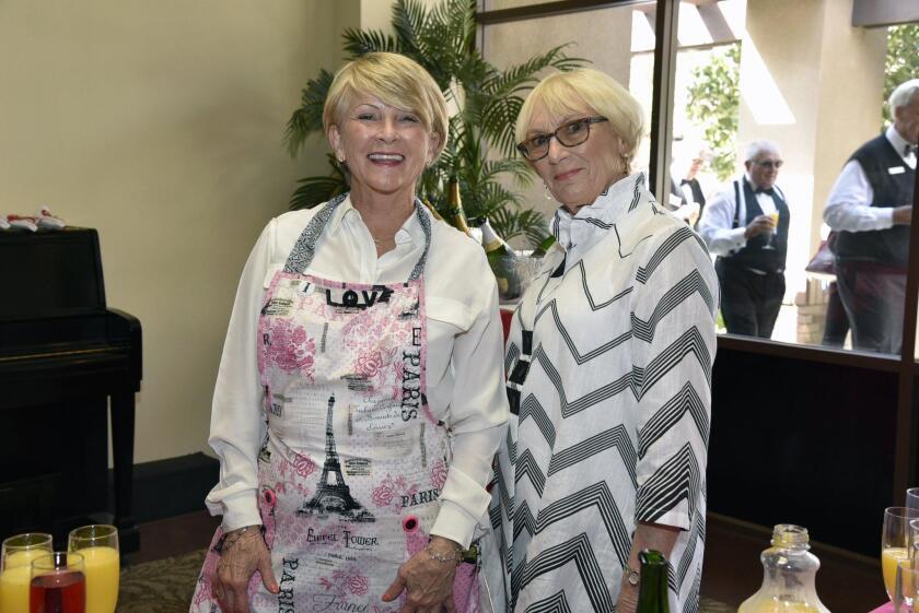Nancy Rinehart, Linda Kewin