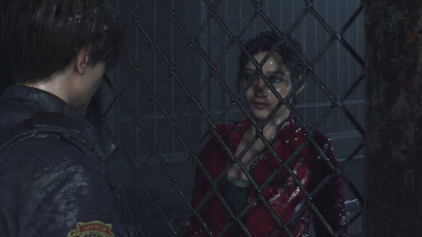 """A scene from """"Resident Evil 2"""""""