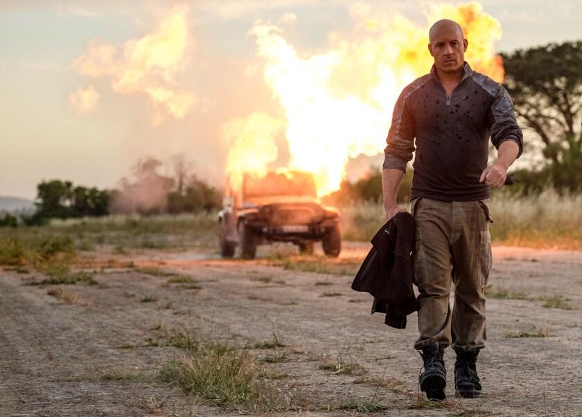 Vin Diesel in the movie 'Bloodshot'