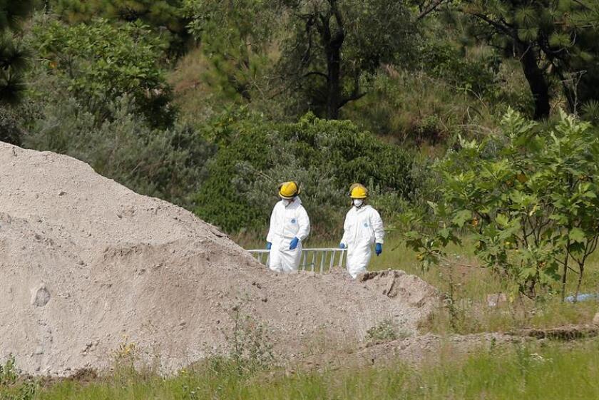 Restos hallados en 119 bolsas en México pertenecen a unas 37 personas