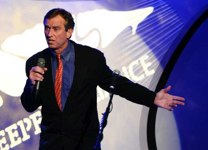 Robert F. Kennedy Jr. in 2010