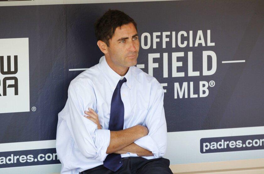 Padres general manager A.J. Preller.