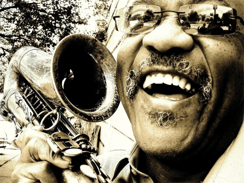 Oliver Lake, saxophone. Photo Yasmin Grogan