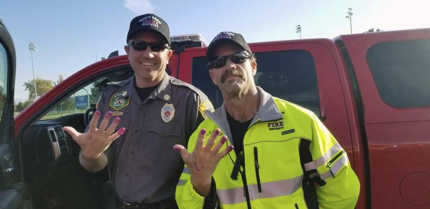 Firefighter Nail Polish