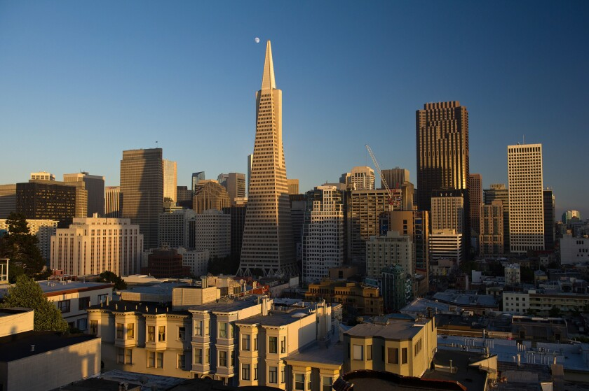 San Francisco is reporting about 90 new coronavirus cases per day.