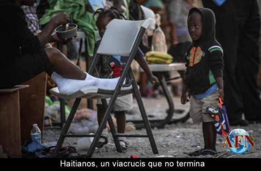Haitianos, un viacrucis que no termina