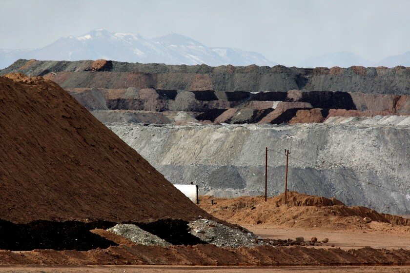 Rio Tinto starts producing lithium in California from old mining waste