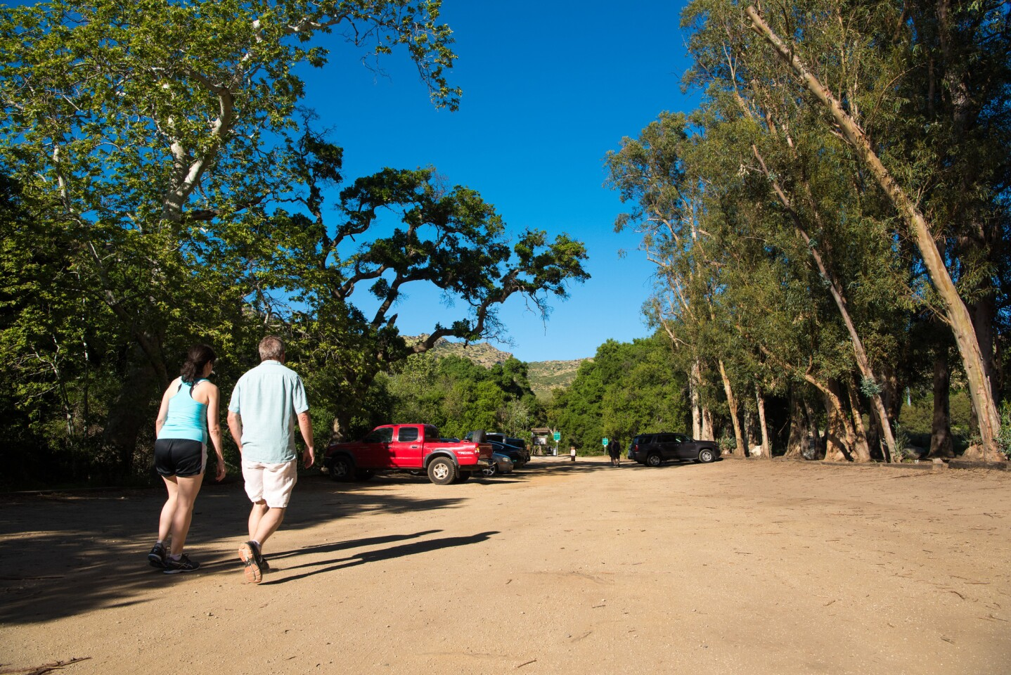 Corriganville Park walk