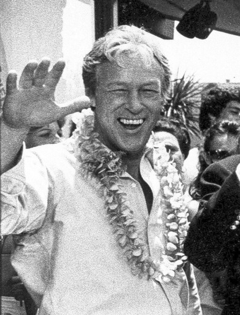 """Russell Johnson (1924-2014) -- Actor who played Professor Roy Hinkley, a scientist who was one of seven castaways on an uncharted Pacific isle on """"Gilligan's Island."""""""