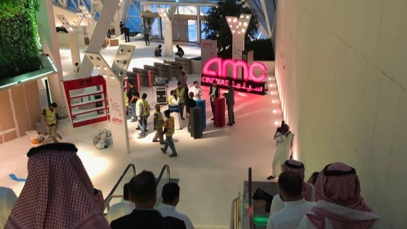 First Cinema to open in Saudi Arabia in 35 years, Riyadh - 18 Apr 2018