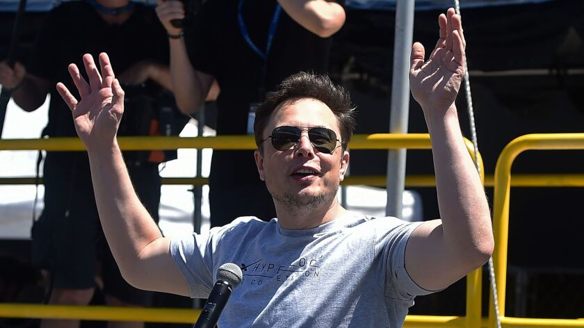 Elon Musk has 45 days from Sunday to resign as Tesla's chairman.