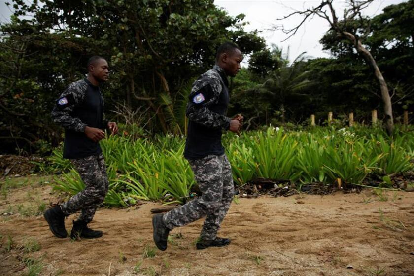 Como parte de esta colaboración, 65 haitianos recibirán en México formación técnica militar. EFE/Archivo